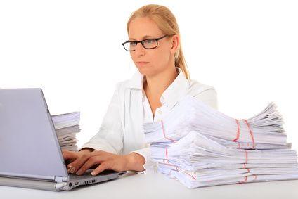 Bewerbung als Bürokraft