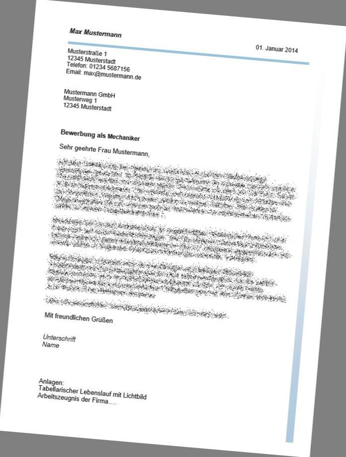 Bewerbung Als Kfz Mechatroniker Professionell Kaufen