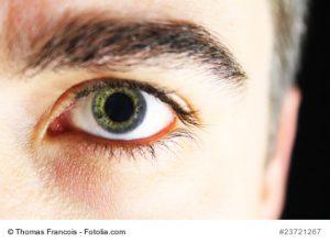 mnnliches Auge